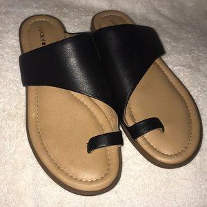 Lucky Brand Black Sandals